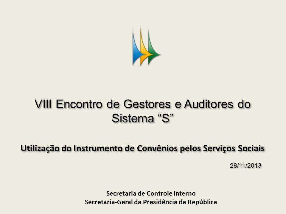 A nova regulamentação de convênios e congêneres Decreto nº 6.170/2007: regulamenta os convênios, contratos de repasse e termos de cooperação.