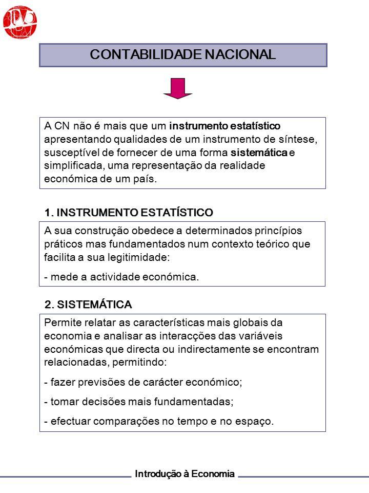 Introdução à Economia PRODUTO ECONÓMICO O PRODUTO ECONÓMICO é o valor dos bens e serviços finais produzidos por factores de produção num dado período.