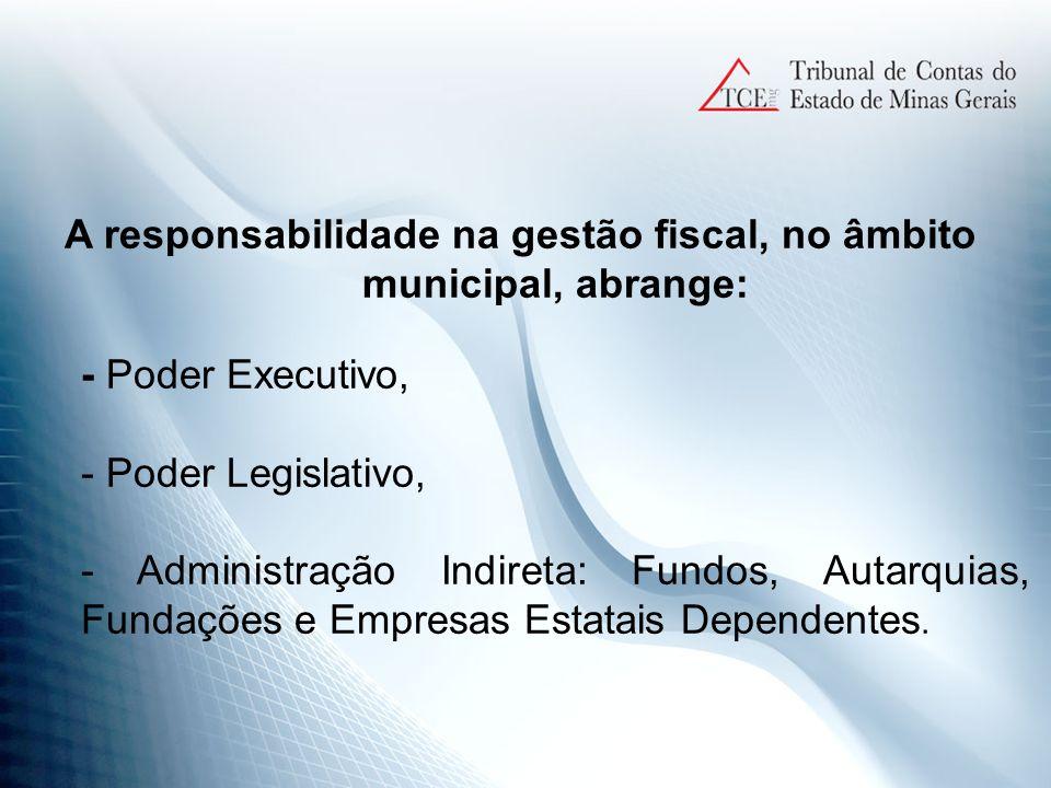 Lei de Responsabilidade Fiscal - LRF E os pilares: PLANEJAMENTO RESPONSABILIDADE NA GESTÃO TRANPARÊNCIA CONTROLE E AVALIAÇÃO