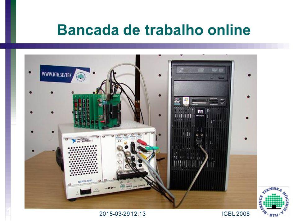 Bancada de trabalho online 2015-03-29 12:15 18 ICBL 2008