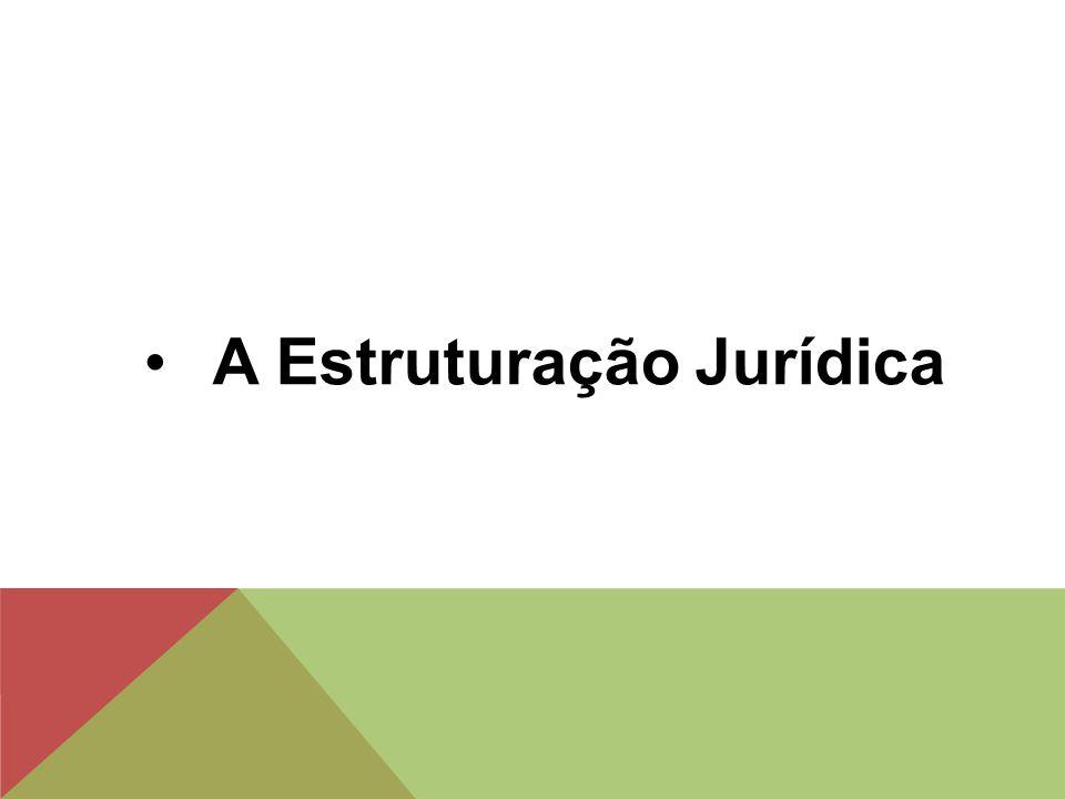 A Estruturação Jurídica