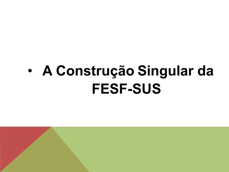 A Construção Singular da FESF-SUS
