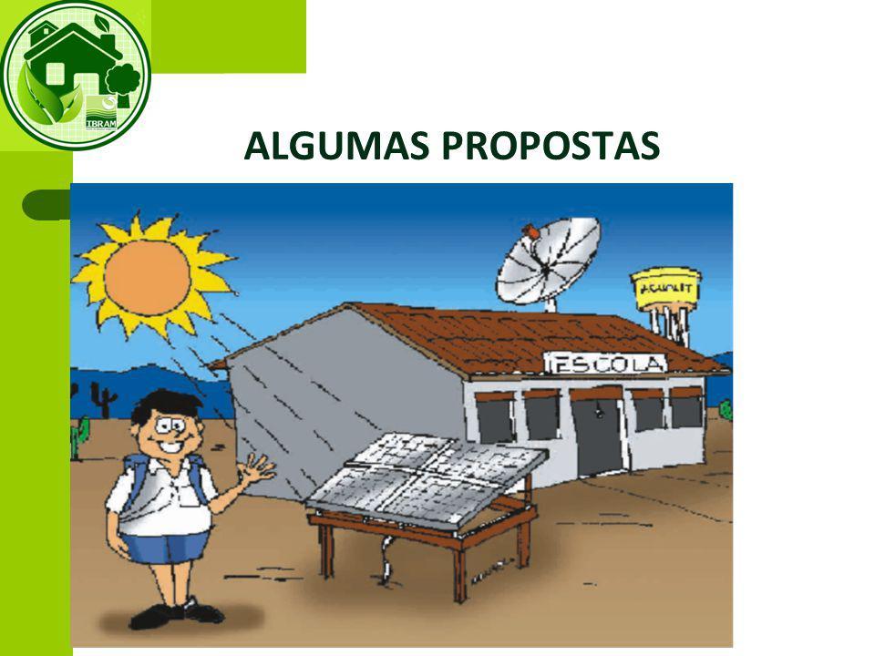 ALGUMAS PROPOSTAS VII. ITENS