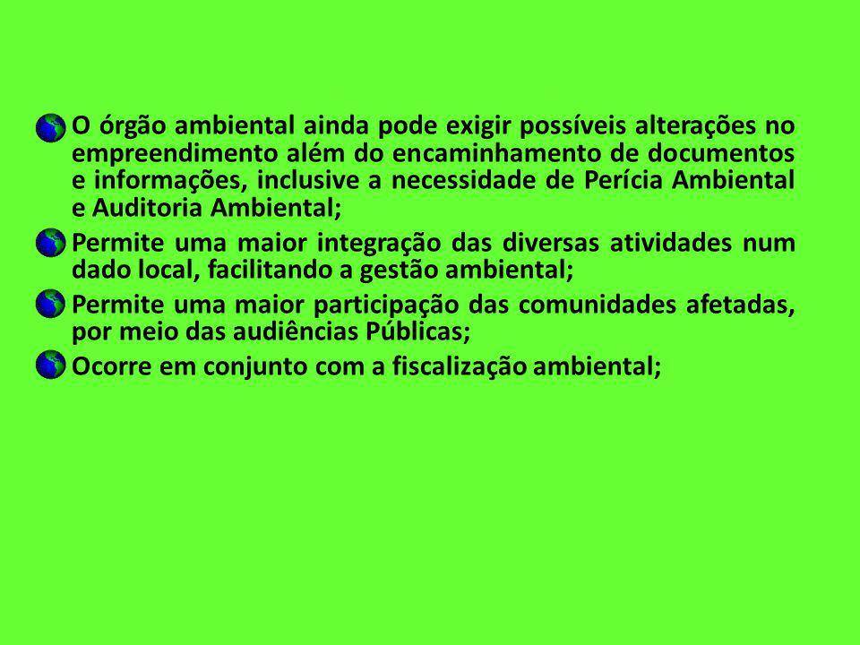 Licenciamento Ambiental Instrumentos da fiscalização ambiental: – Advertência – Termo de Embargo – Interdição – Apreensão