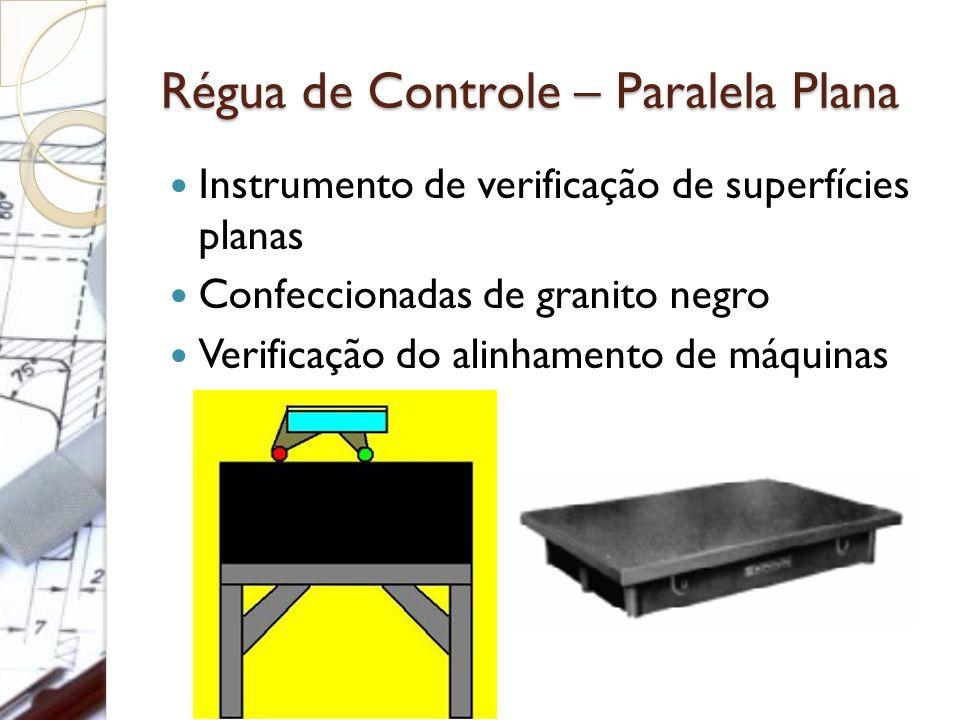 Régua de Controle – Paralela Plana Instrumento de verificação de superfícies planas Confeccionadas de granito negro Verificação do alinhamento de máqu