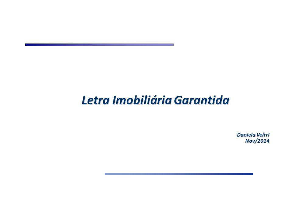 Conceito e Características Conceito: Título de crédito nominativo, transferível e de livre negociação, garantido por Carteira de Ativos submetida ao regime fiduciário.