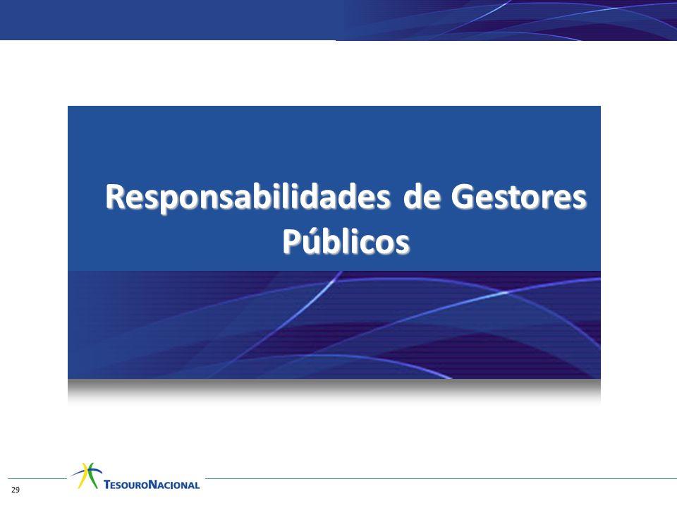 Responsabilidades de Gestores Públicos 29