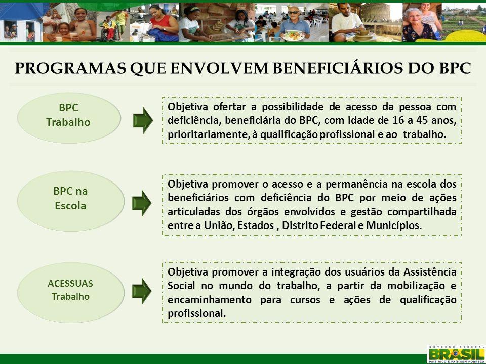 Promovem o acompanhamento dos beneficiários e suas famílias; Fortalecem os processos de elaboração do diagnóstico da situação dos beneficiários e da situação da rede de atendimento no território; Favorecem a integração com outras políticas públicas.