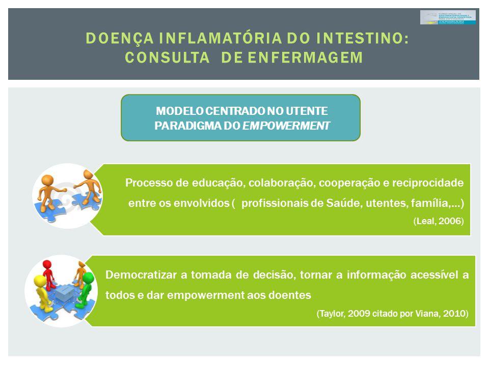 Processo de educação, colaboração, cooperação e reciprocidade entre os envolvidos ( profissionais de Saúde, utentes, família,…) (Leal, 2006) Democrati