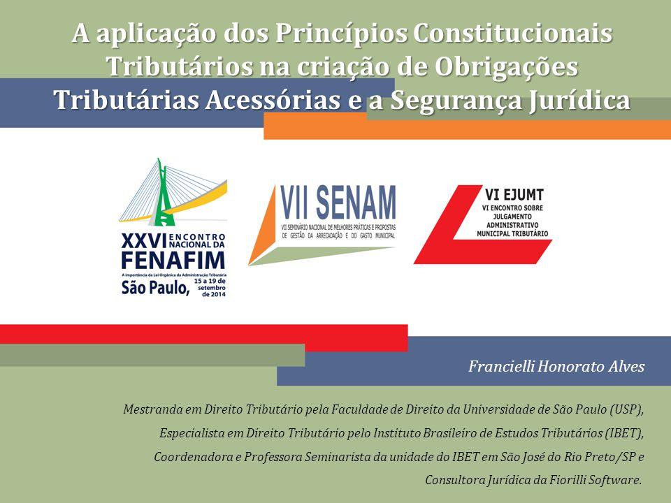 Falta de limite objetivo no texto constitucional ou na legislação complementar não retira dever do legislador ordinário e da autoridade administrativa Criação de obrig.