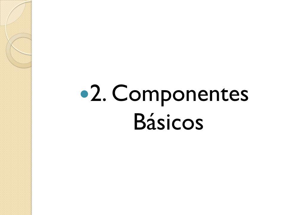 2. Componentes Básicos