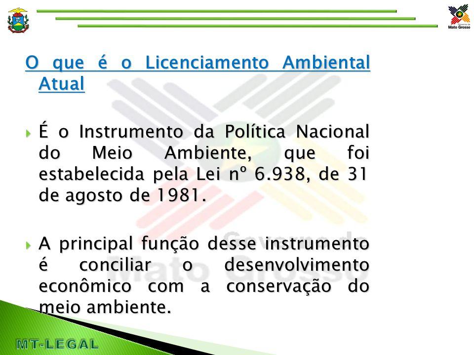 O que é o Licenciamento Ambiental  A Resolução normativa CONAMA nº 237/97, define o Licenciamento ambiental como o procedimento administrativo pelo qual o órgão ambiental competente licencia atividades utilizadoras de recursos ambientais.