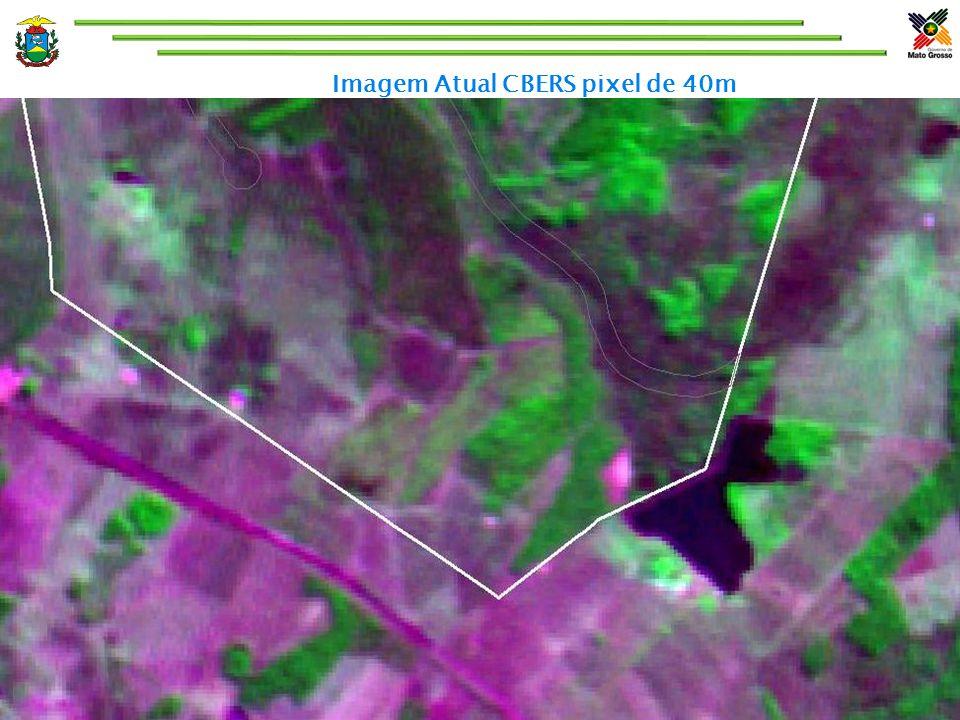 Imagem Atual CBERS pixel de 40m