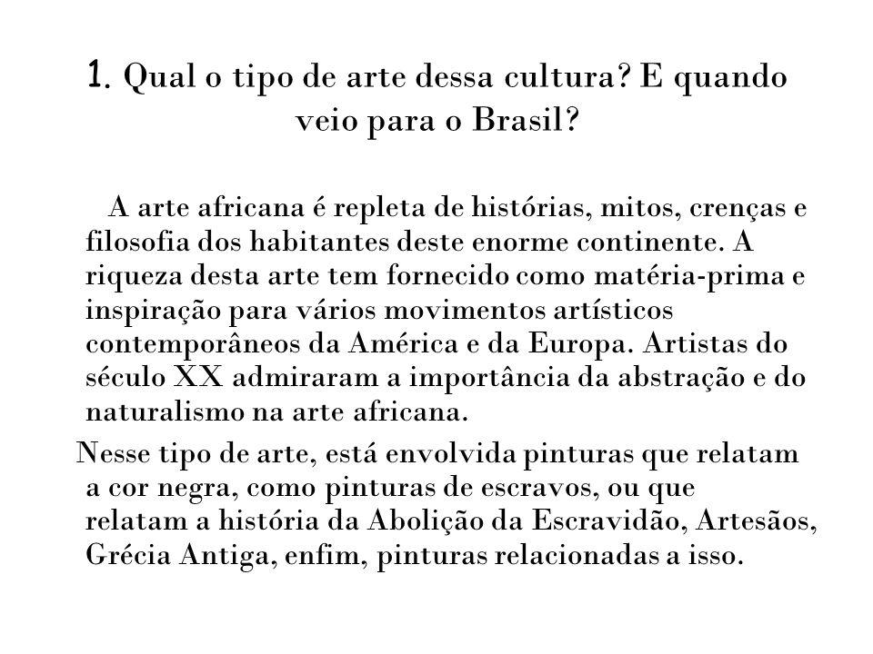 Samba - é a principal forma de música de raízes africanas surgida no Brasil.