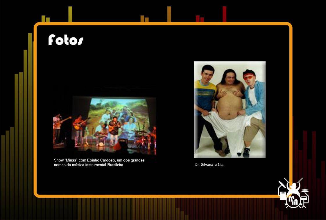 """Dr. Silvana e Cia Show """"Minas"""" com Ebinho Cardoso, um dos grandes nomes da música instrumental Brasileira"""