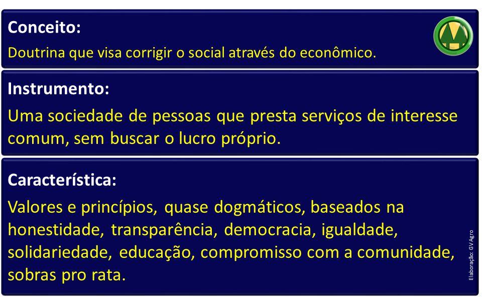 Conceito: Doutrina que visa corrigir o social através do econômico.
