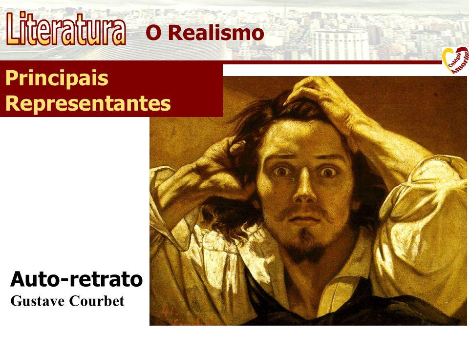 O Realismo Principais Representantes Auto-retrato Gustave Courbet