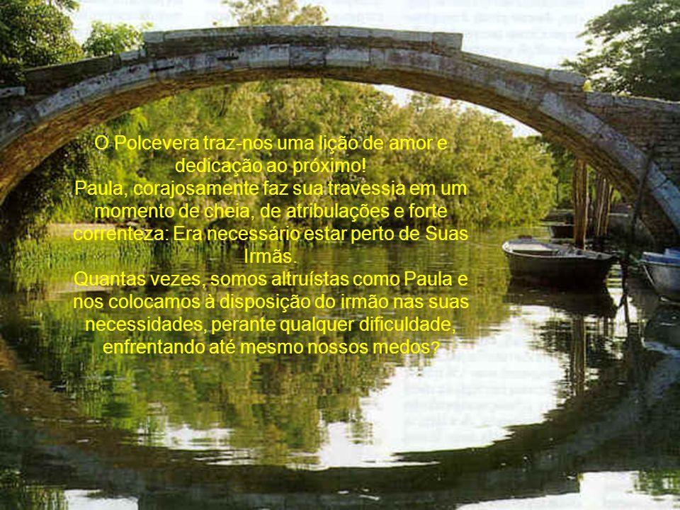 Em outros momentos, o rio segue sereno, levando paz, alimentando e embelezando por onde passa.