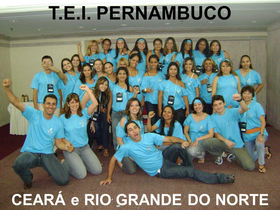 T.E.I. PERNAMBUCO CEARÁ e RIO GRANDE DO NORTE