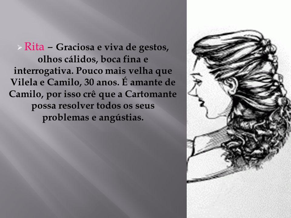  Inácio – 15 anos – pai – foro – judiciário  Comendador Borges  Pouco interessado pelo trabalho # Severina  O conto contêm vazios – o leitor reflita sobre os conflitos não solucionados.