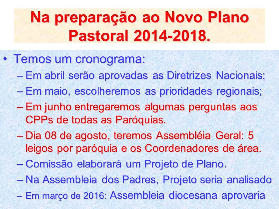 Em 2015, celebramos 35 anos de Diocese....