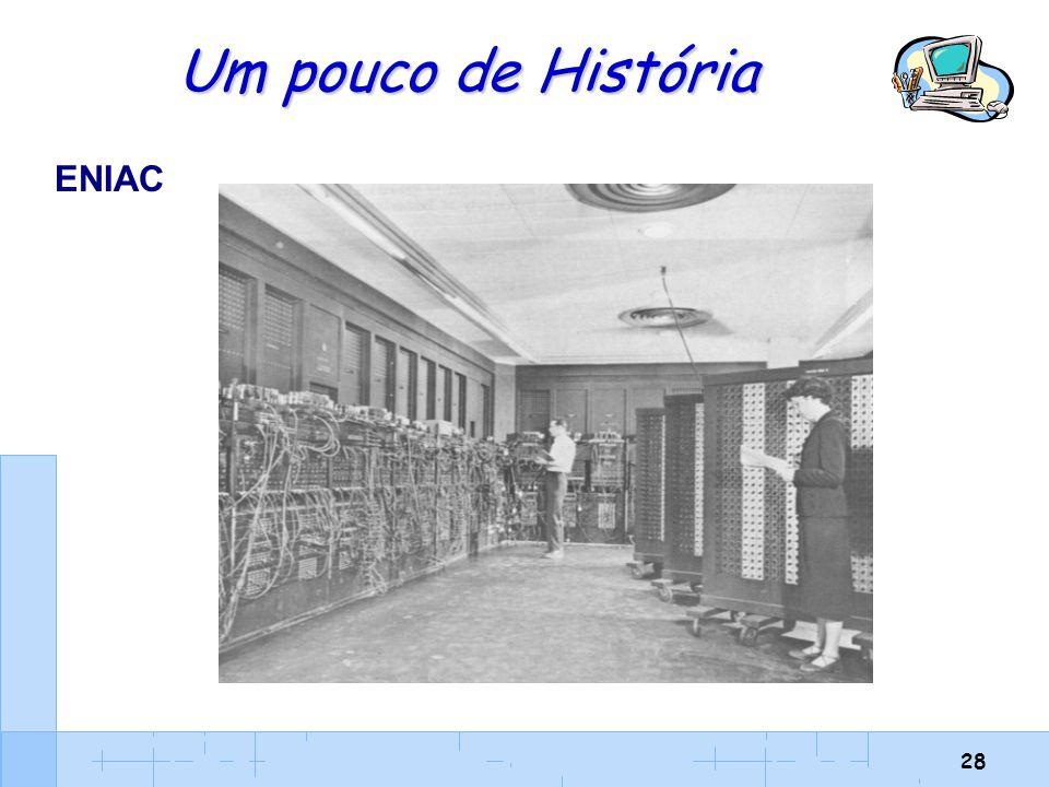 28 Um pouco de História ENIAC
