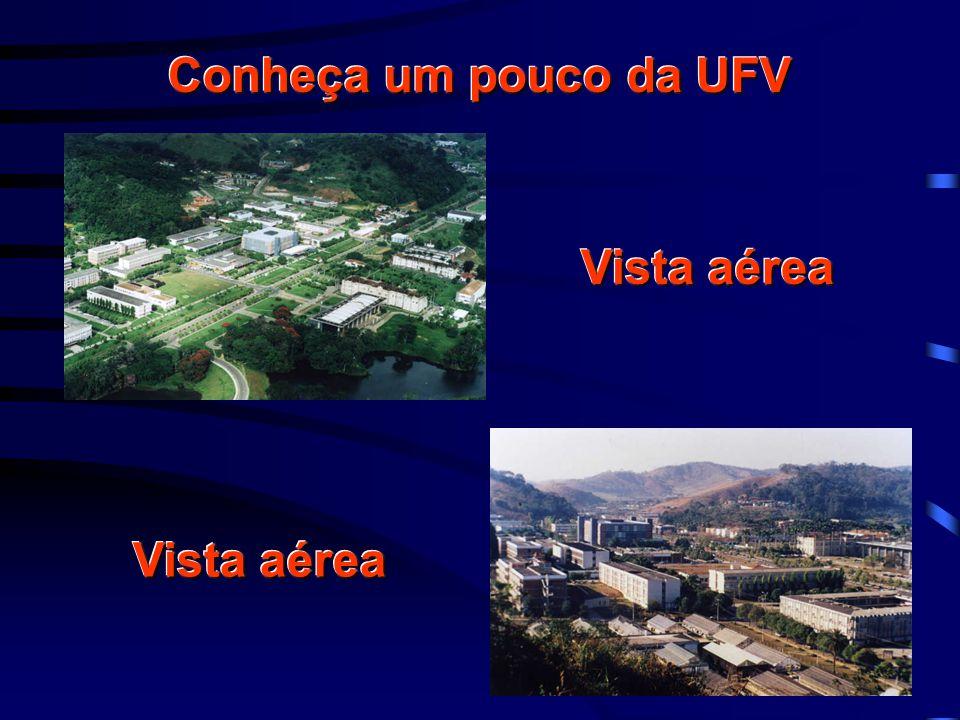 Conheça um pouco da UFV Vista aérea
