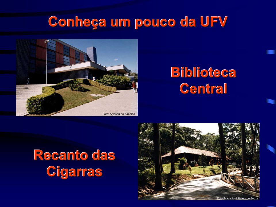 Conheça um pouco da UFV Biblioteca Central Recanto das Cigarras
