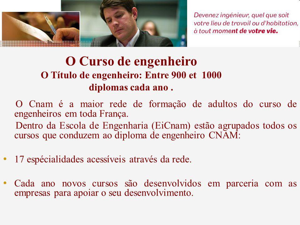 O Cnam é a maior rede de formação de adultos do curso de engenheiros em toda França.