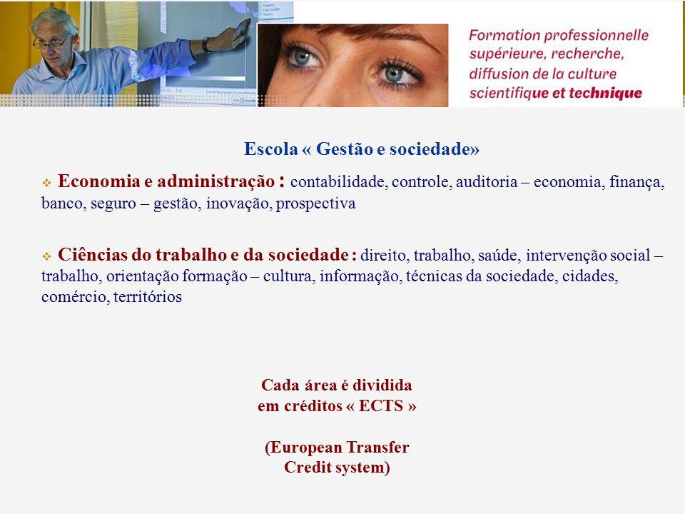 Recursos de competências super individualizadas Em 2009-2010: 100 000 alunos, dentre os quais 10.000 internacionais 7 000 diplomados Possibilidade de se inscrever à titúlo pessoal, ou por intermédio de uma empresa.