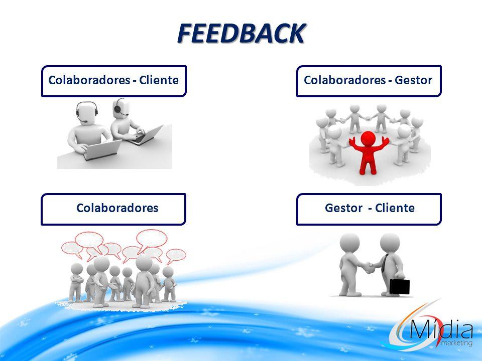 FEEDBACK Colaboradores - GestorColaboradores - Cliente Gestor - ClienteColaboradores