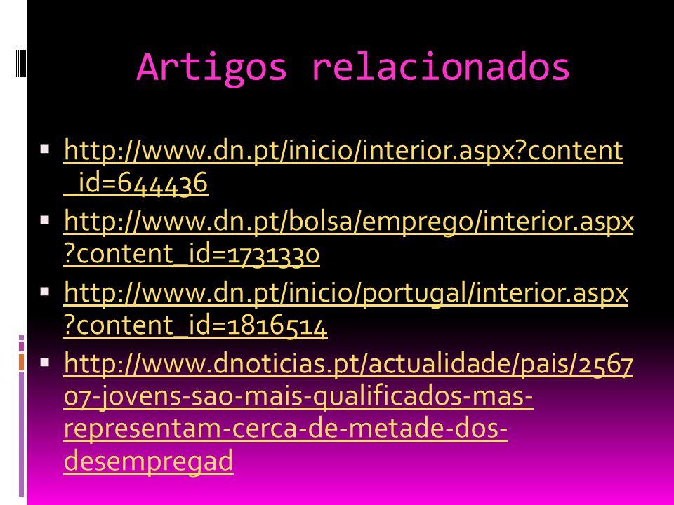 Artigos relacionados  http://www.dn.pt/inicio/interior.aspx?content _id=644436 http://www.dn.pt/inicio/interior.aspx?content _id=644436  http://www.