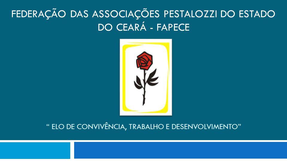 Apresentação O Movimento Pestalozziano no Ceará expandiu-se ao longo destes anos, não só com a Associação Pestalozzi do Ceará (Fortaleza) mas por difundir-se pelo interior do estado.