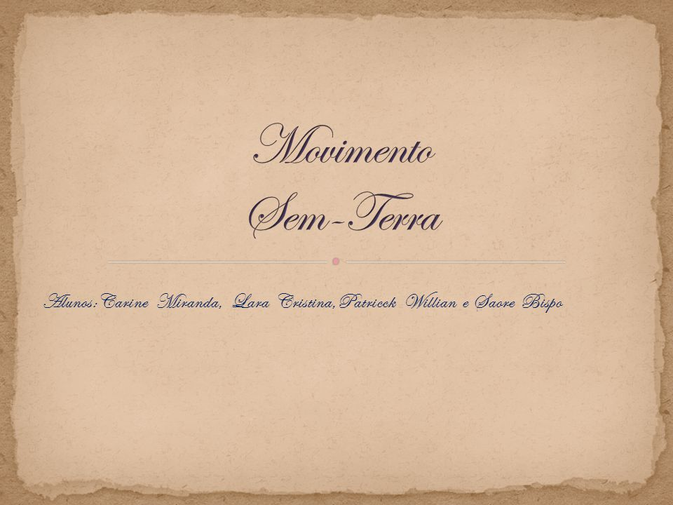 Alunos:Carine Miranda, Lara Cristina,Patricck Willian e Saore Bispo