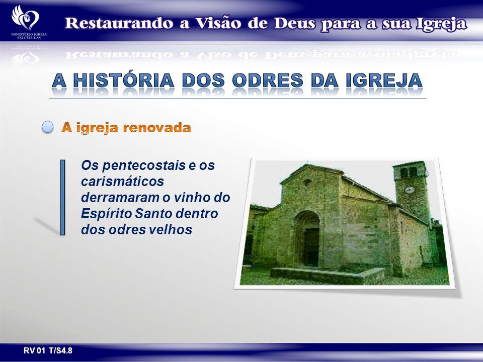 Os pentecostais e os carismáticos derramaram o vinho do Espírito Santo dentro dos odres velhos RV 01 T/S4.8