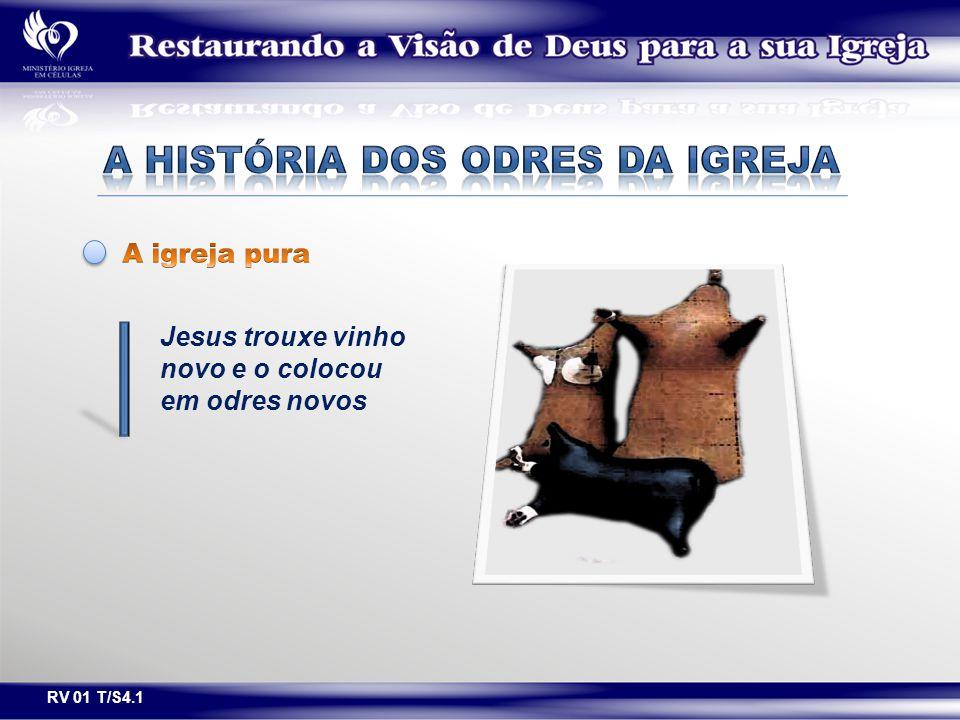 Jesus trouxe vinho novo e o colocou em odres novos RV 01 T/S4.1