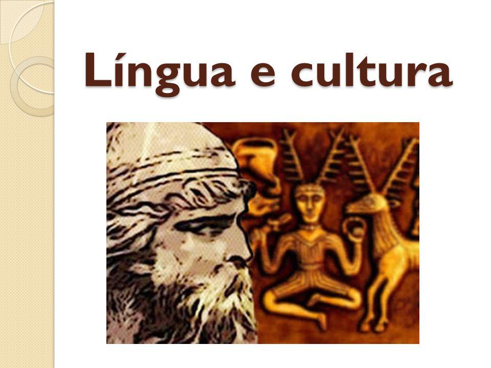 Língua e cultura