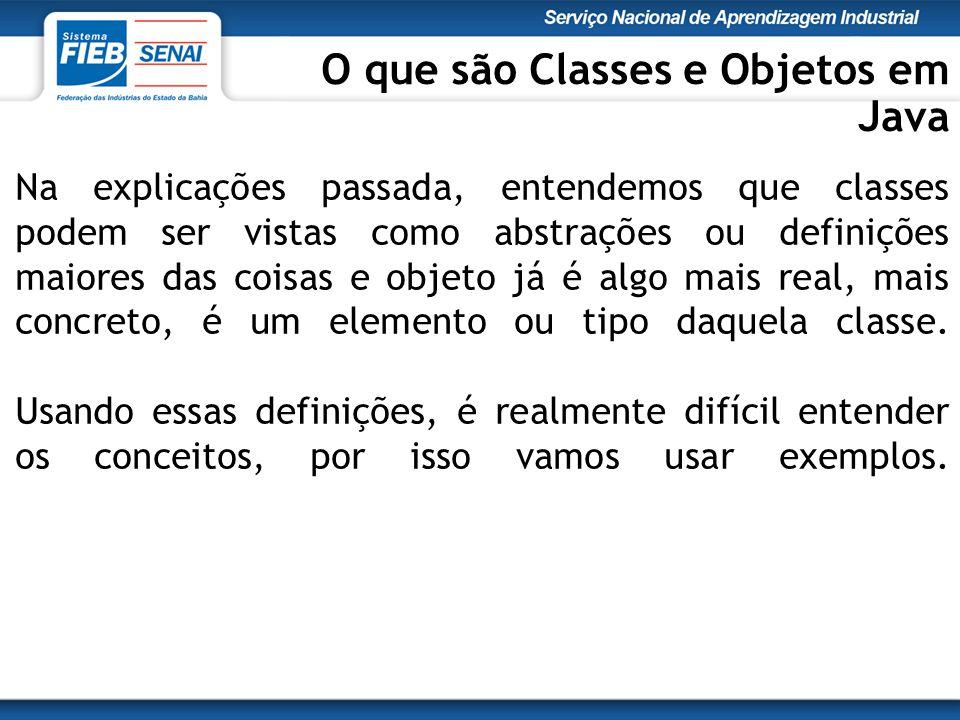 Na explicações passada, entendemos que classes podem ser vistas como abstrações ou definições maiores das coisas e objeto já é algo mais real, mais co