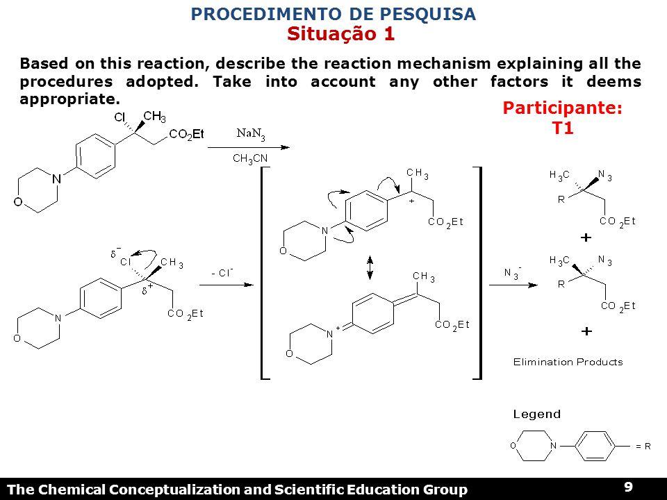 The Chemical Conceptualization and Scientific Education Group 40 1 - Não integrado e conceit.