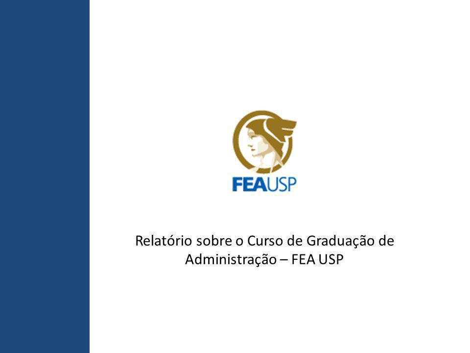 Relatório sobre o Curso de Graduação de Administração – FEA USP
