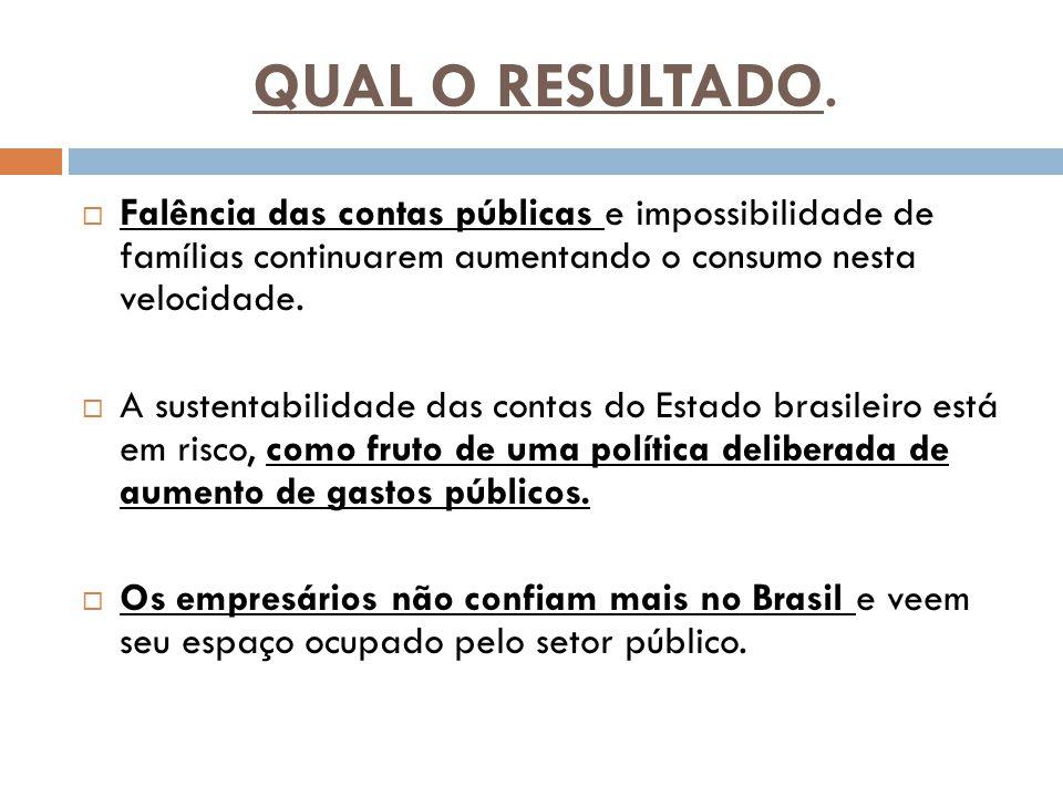 QUAL O RESULTADO.