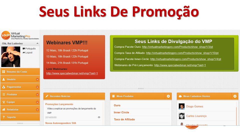 Seus Links De Promoção