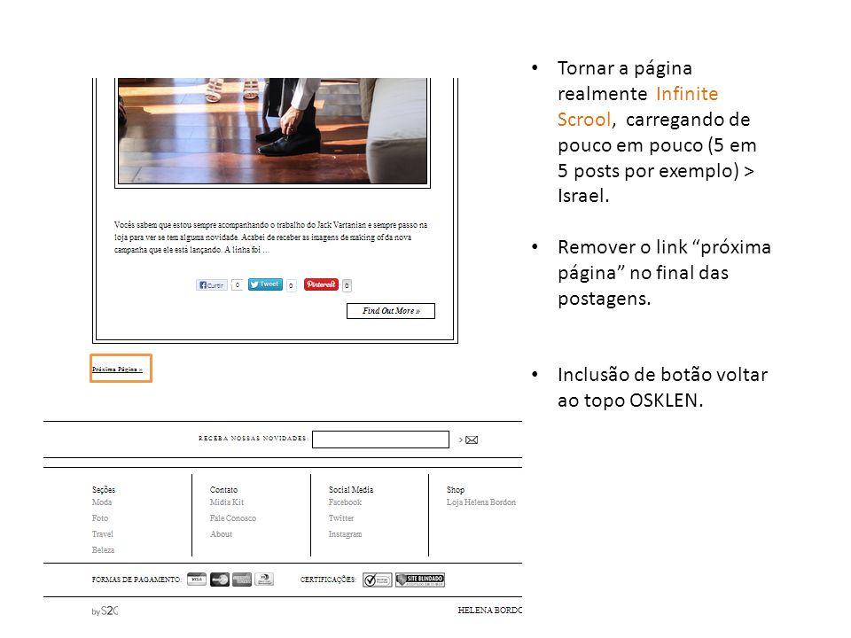 Selo shop now nas imagens / e botão gostou dos produtos do post? só em posts que realmente contenham esses produtos.