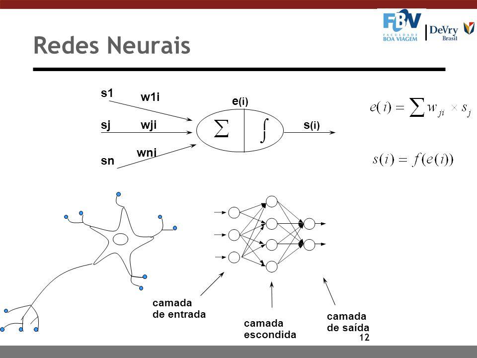 """11 Paradigma Conexionista: Redes Neurais n Definição """"Romântica"""": Técnica inspirada no funcionamento do cérebro, em que neurônios artificiais, conecta"""