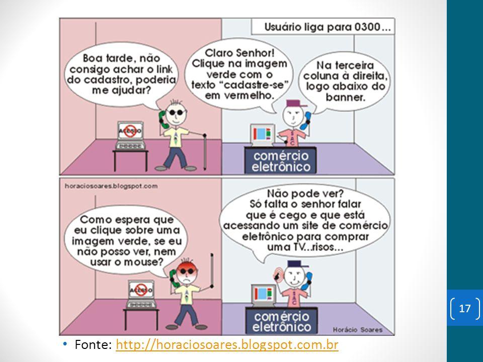 Fonte: http://horaciosoares.blogspot.com.brhttp://horaciosoares.blogspot.com.br 17