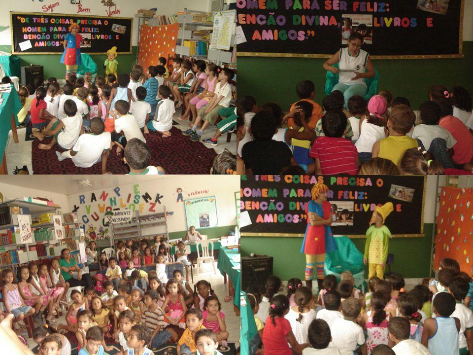 No dia 19 de fevereiro foi o grande momento para as crianças, professores e os pais: a entrega dos Livros Didáticos.