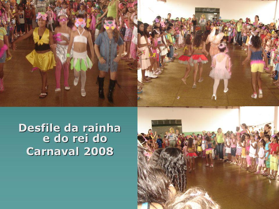 Desfile da rainha e do rei do Carnaval 2008