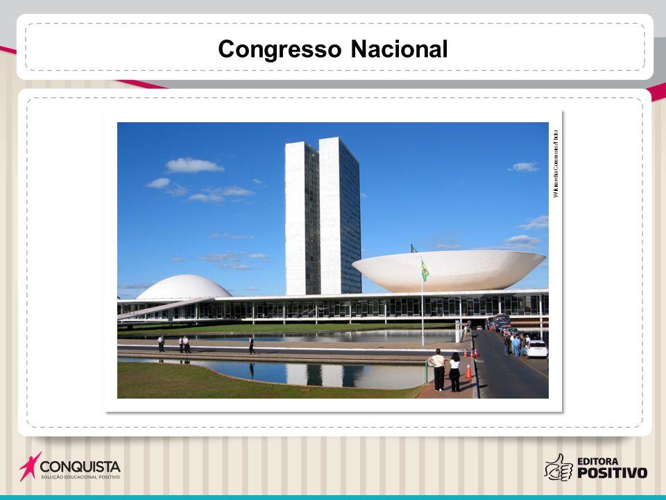 Congresso Nacional Wikimedia Commons/Flickr