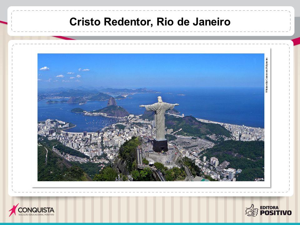 Cristo Redentor, Rio de Janeiro Wikimedia Commons/Artyominc