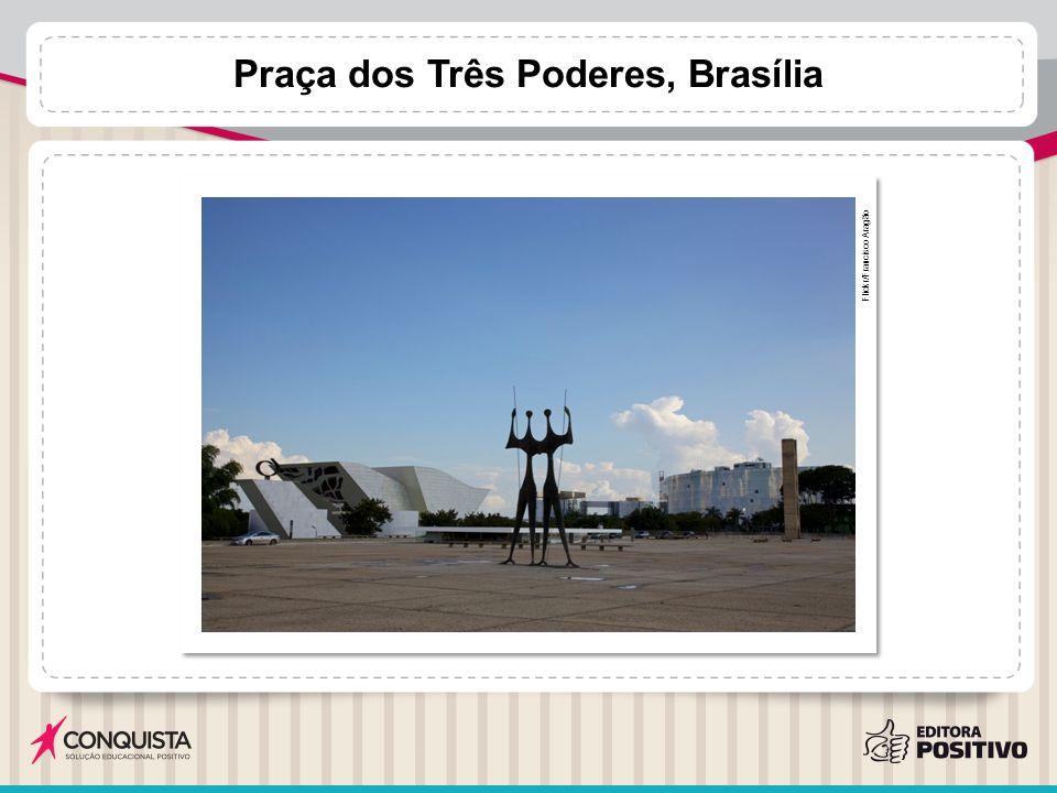 Praça dos Três Poderes, Brasília Flickr/Francisco Aragão